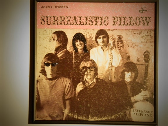Glittered Record Album - Jefferson Airplane - Surrealistic Pillow