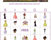 Sofia The First Personalized Bingo