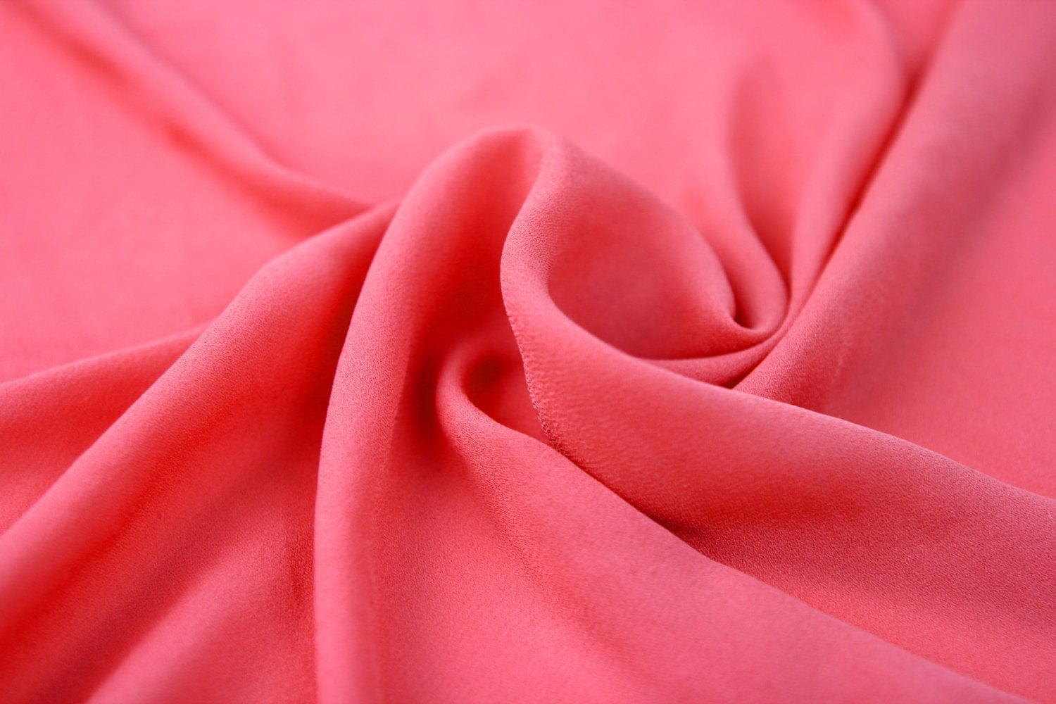 DEEP CORAL Wool Dobby Chiffon Fabric - 241.7KB