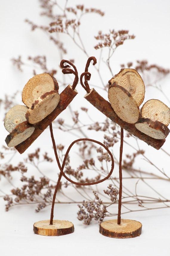 Wood Centerpiece Rustic Wedding Wood Wedding Rustic