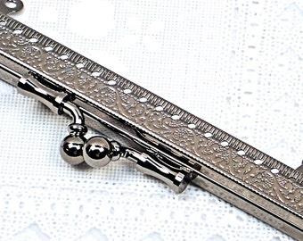 Purse Frame - Gunmetal 15cm Clutch Purse Frame - Sew-On Frame - READY to SHIP