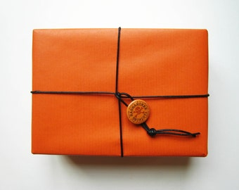 Gift wrap with box