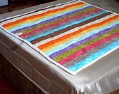 Jelly Roll Baby Throw Quilt