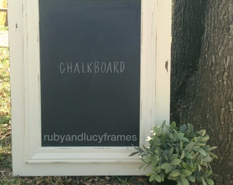 custom distressed chalkboard made to your size and color specifications