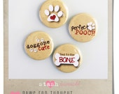 Flair Buttons Bijou (Paws for Thought)