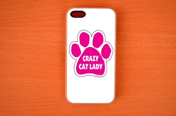 Crazy Cat Lady iPhone 5 Case