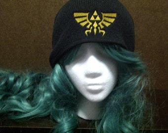 Legend of Zelda Inspired Hylian Royal Crest beanie skull cap