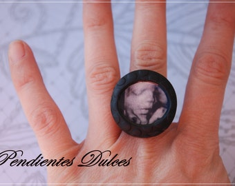 ring personalized with your picture