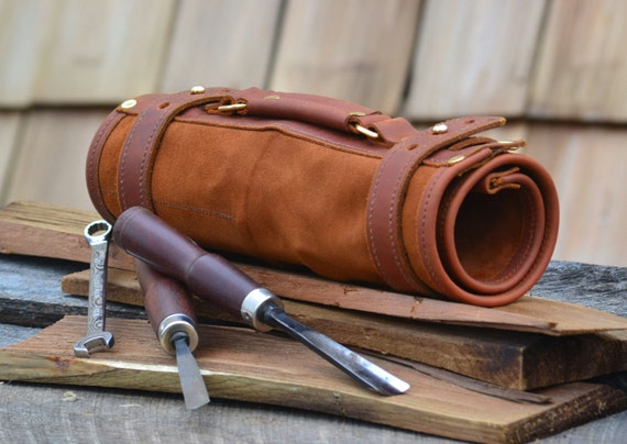 Items Similar To Hand Made Leather Tool Roll Wrench Roll