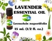 Essential Oil Lavender  -  Pure Essential Oil - Aromatherapy  - Earth Botanics  -  Soap Fragrance Oil - Essential Oil