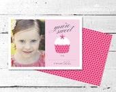 You're Sweet Valentine Photo Card - The Celebration Shoppe