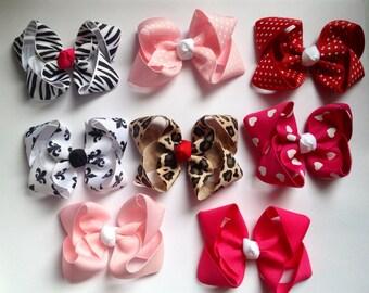 beautiful mini hair bows