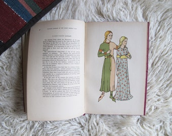 Vintage Book English Costume in Early Middle Ages c.1936