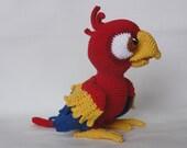 Amigurumi Crochet Pattern - Chili the Parrot