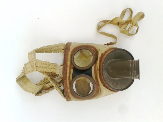 Wwi Gas Mask Military Authentic French Gas Mask From France