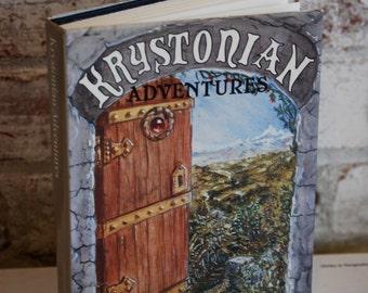 Vintage book, Krystonian Adventures