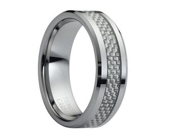 Carbon fiber ring Etsy