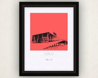 Oslo Art Poster