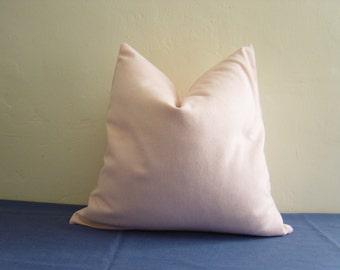 "20"" by 20"" Wool Herringbone Pillow Cover"