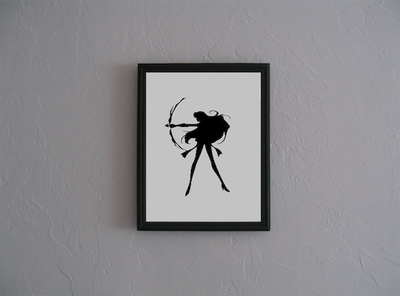 Sailor Mars Silhouette Sailor Mars Sailor Moon Hand