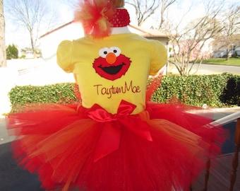 Elmo personalized shirt Elmo shirt Elmo birthday shirt Elmo birthday onesie Elmo 1st birthday Elmo 2nd birthday Elmo party shirt