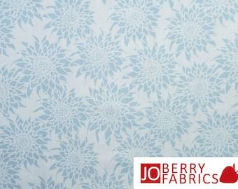 Better Gnomes & Gardens Blue Tonal Fabric