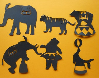 Fun Circus Animals -cc