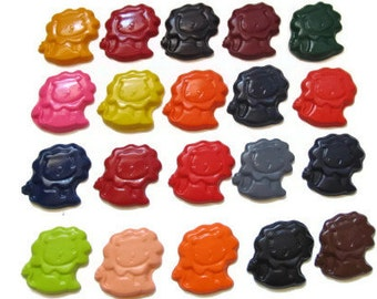 Lion crayons set of 20 - party favors