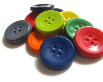 Button Crayons set of 20 - party favors