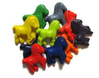 Horse Crayons set of 20 - party favors