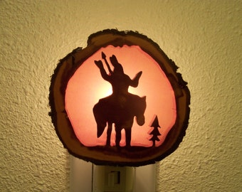 Native American nightlight