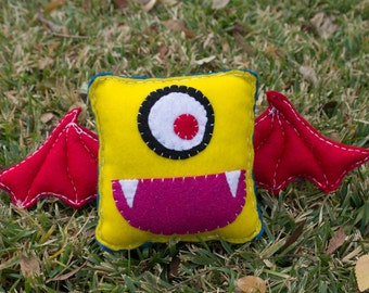 Batty Plush Monster
