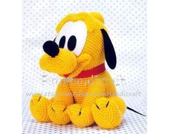 Disney Pluto Baby Amigurumi Pattern (E-book in PDF format) Instant Download