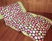Owls Pillow Bed, Children's Pillow Bed, Pillow Mattress, Sleepover Bed