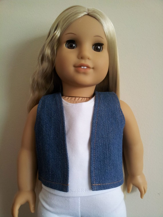 Vest for 18 inch doll such as American Girl, Our Generation Doll and others