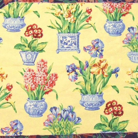Melanie Fabric Remnant By Kingsway In Yellow 21 Inches