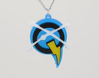 Ratchet and Clank Q Force Necklace or Keychain