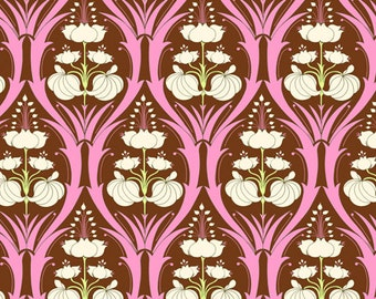 "Amy Butler Fabric Soul Blossoms 'Passion Lily"" in Mulberry 1 yard"