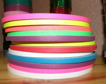"""30 ft. roll of 1/4"""" Gaffers Hula Hoop Grip Tape - All Colors and Neons to Choose From!"""