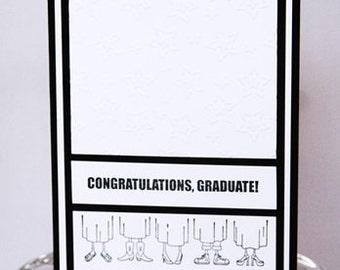 Congratulations Graduate Happy Graduation Card, Congrats to the Grad Hand Made Card, Happy For You Graduation Note Card