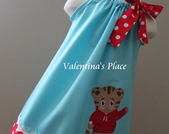 Super Cute Daniel Tiger pillowcase dress
