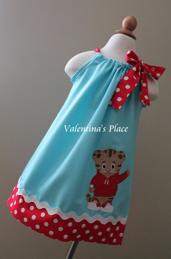 Cute Ideas For Pillowcase Dresses : Super Cute Daniel Tiger pillowcase dress