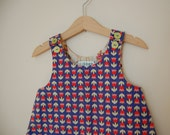 1952 tulip dress, size 0-6 mo & size 6-12 mo