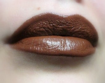 Hot Choco - Brown Lipstick - Natural Gluten Free Fresh Handmade