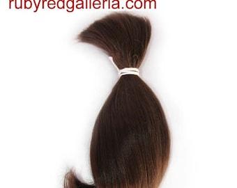 BD0006M7 Medium Brown Curve NuBorn Mohair 0.25 oz