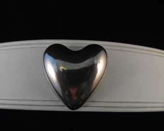 Reed & Barton Sterling X540 Heart Pin