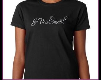 Jr. Bridesmaid Rhinestone T-Shirt