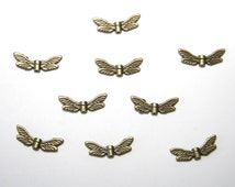 10 Piece bronze wing nickelfree F008