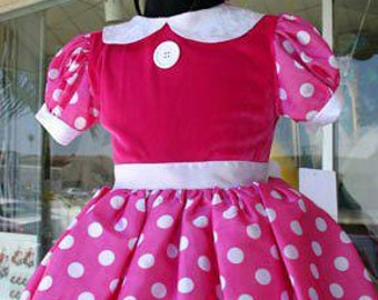 Minnie Mouse Infant, toddler ,Child, Chilren dress ,costume  Hot Pink #mickeymouse