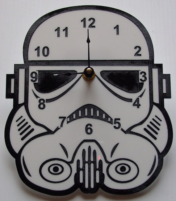 Star Wars Stormtrooper head clock
